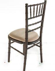 Mahogany chiavari chair hire - Blue Goose Hire